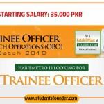 Habib Metropolitan Bank Jobs 2019 Trainee Officer Branch Operations