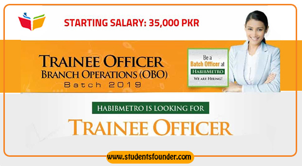 Habib Metropolitan Bank Jobs 2019 Trainee Officer Branch Operations