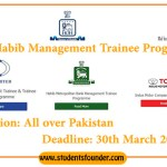 House of Habib Management Trainee Programs 2019 – 40,000 Monthly Salary Offered