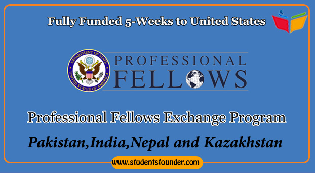 PROFESSIONAL FELLOWS EXCHANGE PROGRAM FOR FALL 2019 – FULLY FUNDED