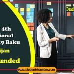 ACWAY 4TH INTERNATIONAL FORUM 2019 IN BAKU, AZERBAIJAN – FULLY FUNDED
