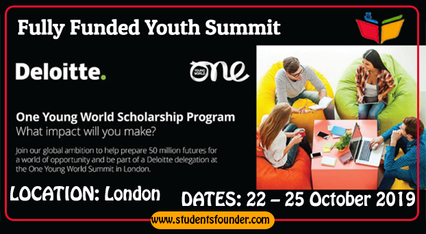 DELOITTE ONE YOUNG SCHOLARSHIP PROGRAM 2019 – FULLY FUNDED YOUTH SUMMIT IN UK