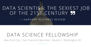 DATA SCIENCE FELLOWSHIP 2019 IN USA (FREE ADVANCED 8-WEEK FELLOWSHIP)