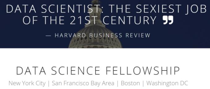 DATA SCIENCE FELLOWSHIP 2019 IN USA