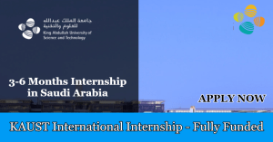 KAUST INTERNATIONAL INTERNSHIP