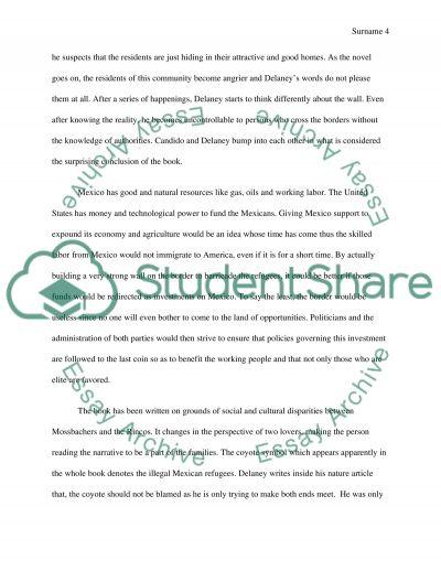 Tortilla Curtain Analysis Essay | Scifihits.com