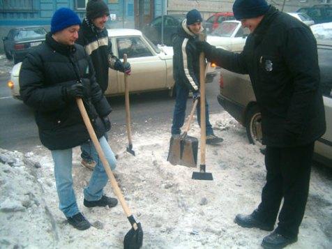 čiscenje snega