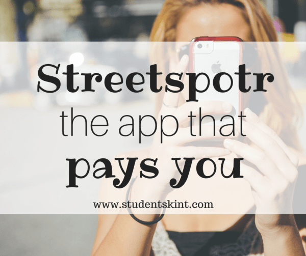 Streetspotr the app that pays you