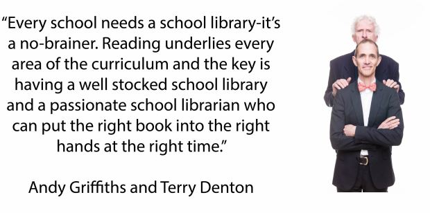 School Libraries Matter Griffiths Denton