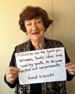 Author Hazel Edwards
