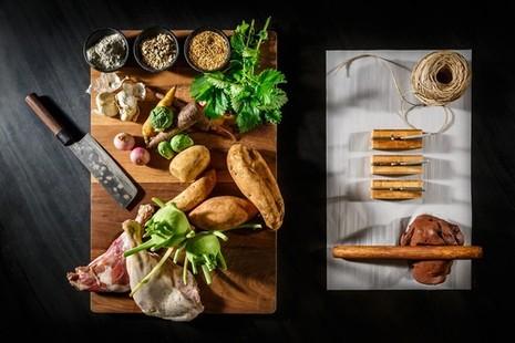 צילום של נמרוד גנישר, מתוך תערוכה של בצלאל בשילוב ייעוץ של חוקרי ההמזון לביוכימיה, מזון ותזונה