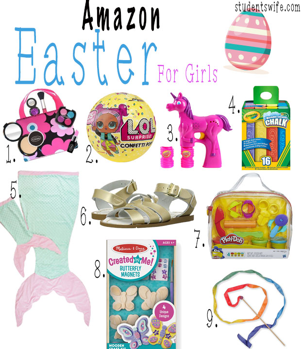 The students wife amazon easter gift guides be ordering for my kids easter baskets luckily you still have time to get them delivered right to your door too all the links are below each picture negle Gallery