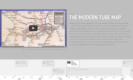 Maps of the London Underground - Information Visualization