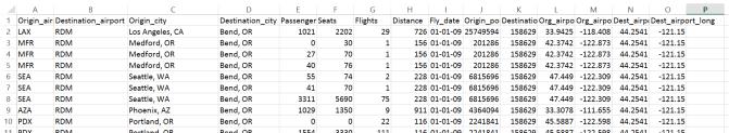 Visualization of US Domestic Flights - Information Visualization