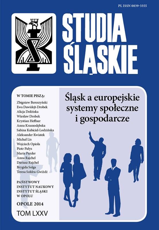 Studia Śląskie tom 75
