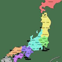 Le prefetture giapponesi