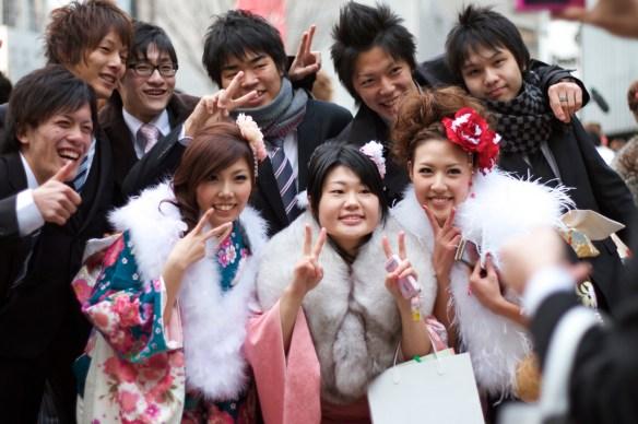 2010 成人の日(Seijin No Hi) Coming of Age Day: Post-Ceremony - 01
