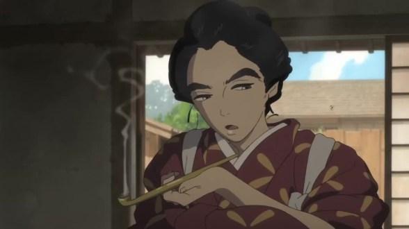 hokusai miss figlia anime sarusuberi (5)