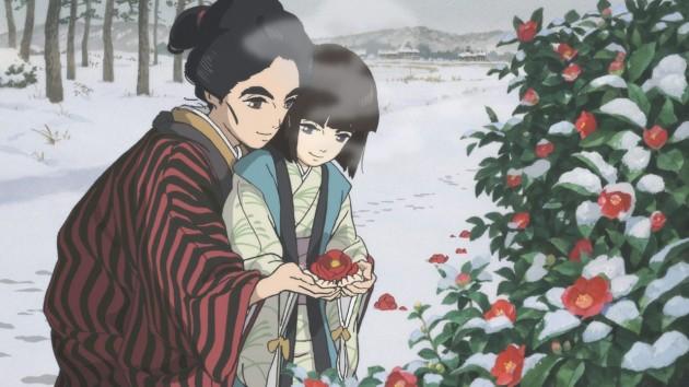 hokusai miss figlia anime sarusuberi (6)