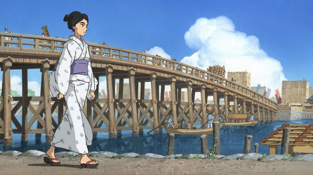 hokusai miss figlia anime sarusuberi (8)