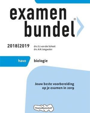 Examenbundel biologie HAVO