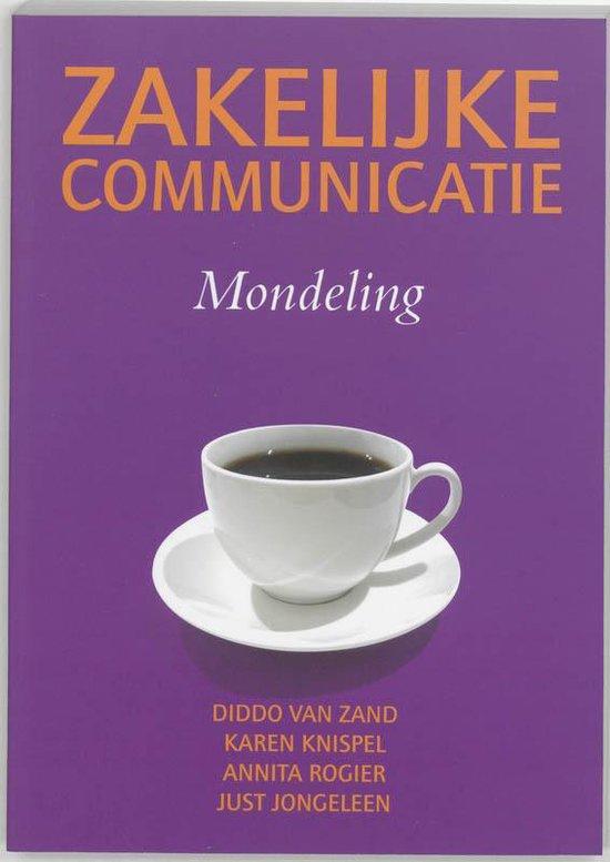 Zakelijke communicatie mondeling