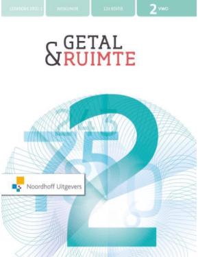 Getal & Ruimte 12e ed vwo 2 leerboek deel 1