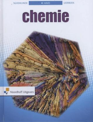Chemie 4 havo scheikunde Leerboek