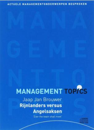 Management topics / Het Rijnlandse en Angelsaksische model (luisterboek)