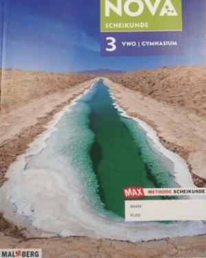 Scheikunde NOVA 3 VWO/GYM MAX-uitgave