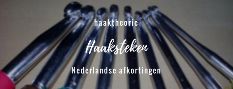 Haaksteken, nederlandse afkoringen - studiebolletjes.nl