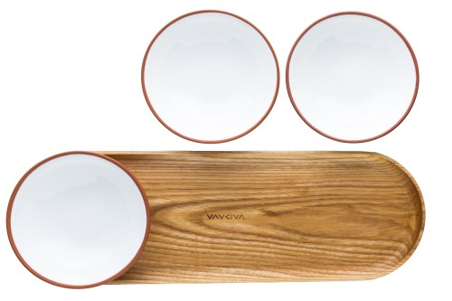bowl-set-with-wooden-tray-tableware