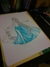 La Reine des Neiges (Work in progress)