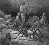 Gustave Doré, Arachné au Purgatoire