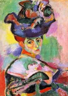 Femme au chapeau Henri Matisse (1869 - 1954) 1905 Huile sur toile 31 x 24 cm Musée d'art moderne de San Francisco