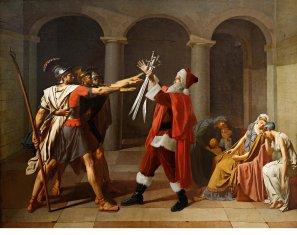 Ed Wheeler revisite une toile de Jacques-Louis David.
