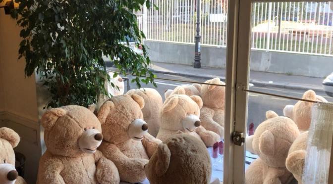 Nounours des Gobelins : invasion d'ours en peluche à Paris !?