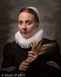 Portraits that feel like historic art