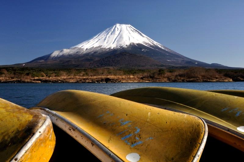富士とボート
