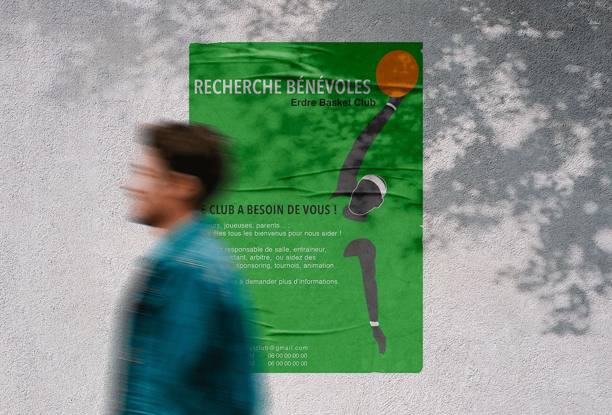 Affiche Erdre Basket Club