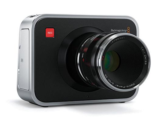Blackmagic cinema camera EF et Zeiss