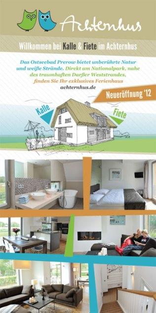 Ferienhaus Achternhus Darß, Grafikdesign