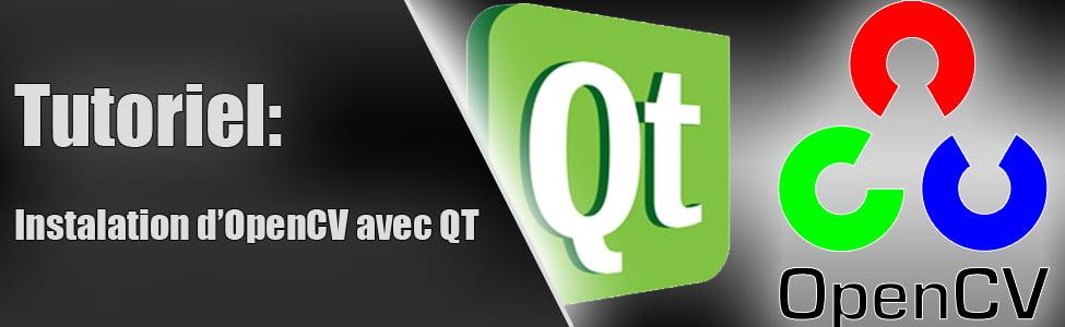 Tutoriel: Installation de OpenCV avec QT