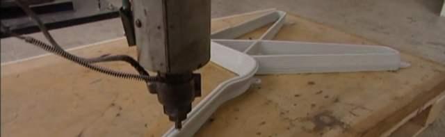 Une imprimante 3D qui fabrique des chaises grâce au recyclage