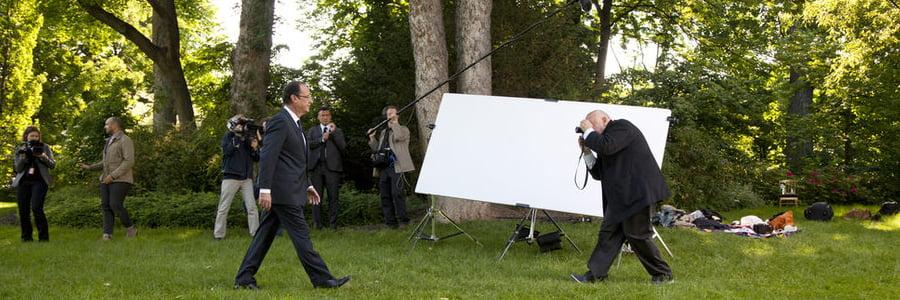 Portrait présidentiel: François Hollande par Raymond Depardon