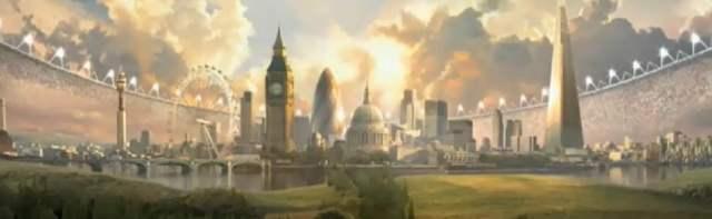 Un court d'animation pour l'ouverture des JO de Londres 2012