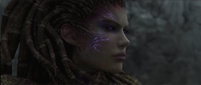 Cinématique pour Starcraft 2: Heart Of The Swarm