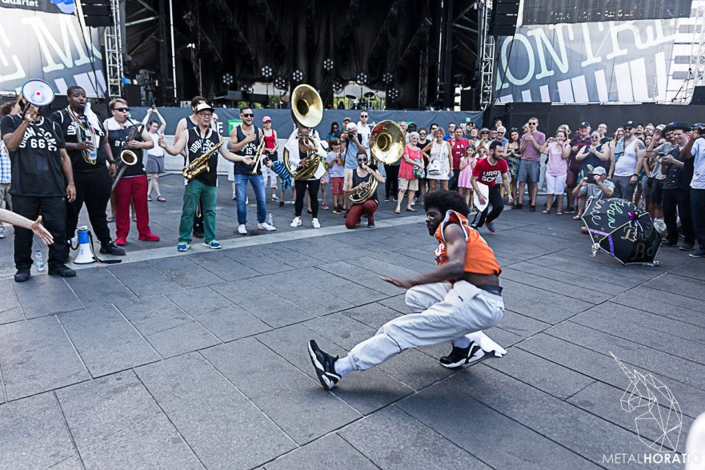 Urban Science Brass Band @ Festival de jazz international de Montreal