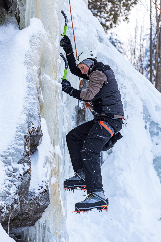 Escalade de glace - St Adolf
