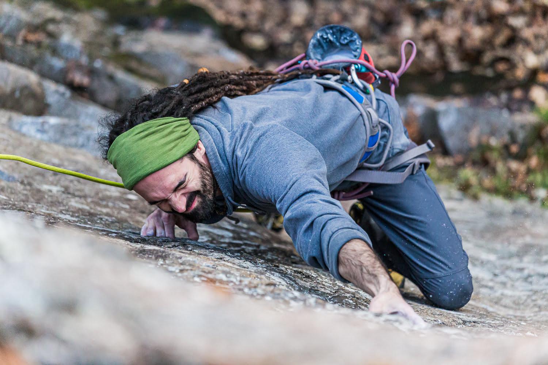 Lucas Escalade à la Montagne D'argent